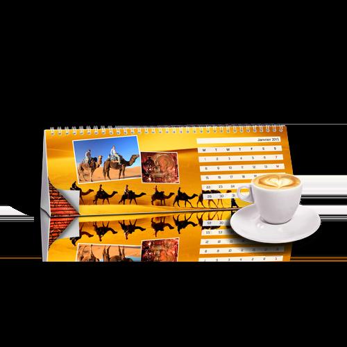 Calendrier Chevalet Maroc