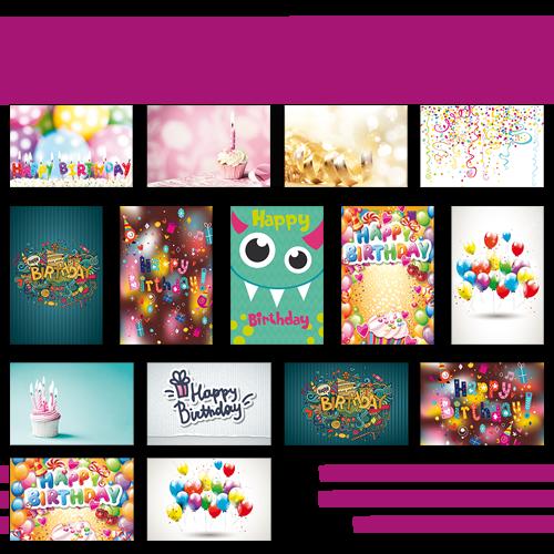 Poster multi-photos medium Anniversaire