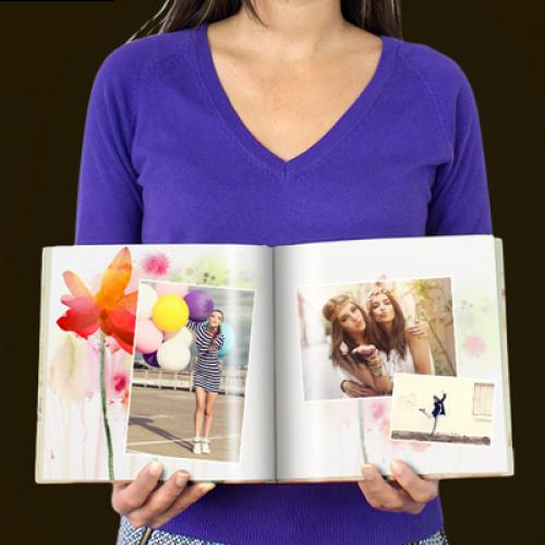 Livre Carré Flower