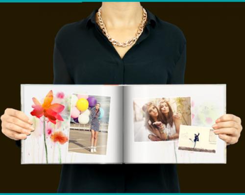 Livre A4 horizontal Flower