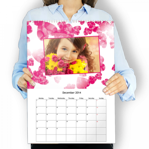 Calendrier Mural XL vertical Passion